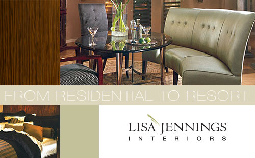 Custom Website Design for Lisa Jennings Interiors